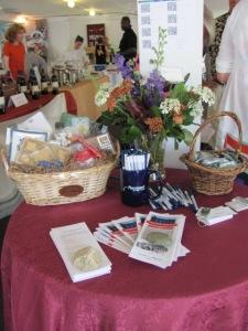 Gift basket door prize to win