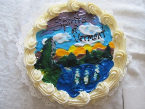 Cake by Bentley's Bakery and Cafe, Danville Vermont
