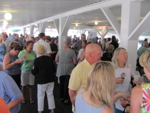 The Crowd at Spirits of Vermont 2014 Joe's Pond Danville Vermont